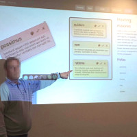 Thumbnail for Pointing Gesture Based User Interaction of Tool Supported Brainstorming Meetings