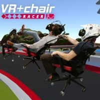 Thumbnail for VRChairRacer: Using an Office Chair Backrest as a Locomotion Technique for VR Racing Games